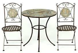 Mosaic Bistro Table Set Kara 2 Seater Garden Bistro Furniture Set Black Porto 2 Seater