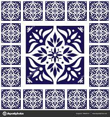 Tile Floor In Spanish by Tiles Floor Vintage Pattern Vector With Ceramic Cement Tiles
