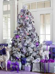 holidays and s and tree decorations blue silver white