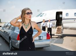 nissan commercial actress wealthy woman elegant dress standing against stock photo 231817579