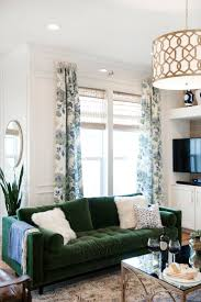 Blue And Brown Living Room by Best 10 Green Couch Decor Ideas On Pinterest Green Sofa Velvet