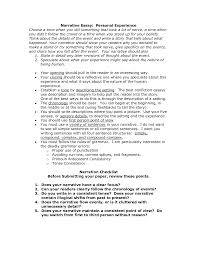 sample personal narrative essays personal narrative essay sample narrative essay writing examples essay examples for kids read more