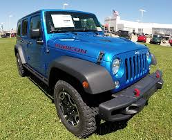 blue jeep wrangler unlimited 2015 jeep wrangler unlimited rubicon hard rock blue new jeep