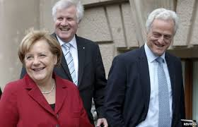 German Cabinet Ministers German Spd Backs U0027grand Coalition U0027 Government With Merkel