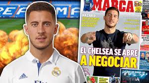 breaking real madrid to break transfer record on eden hazard for
