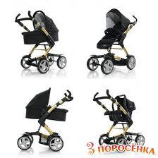 abc design 4 tec abc design 4 tec gold black купить универсальные коляски цена