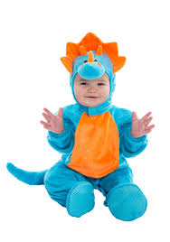 Halloween Costumes 18 Months Boy Infant Blue Orange Dino Costume