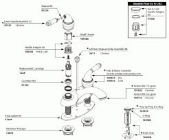 how to repair a single handle kitchen faucet moen single handle kitchen faucet repair diagram 25913