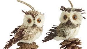 ornament owl ornaments bird beautiful white