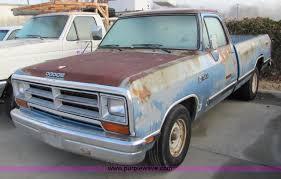 dodge ram 1988 1988 dodge ram d 100 truck item 5155 sold march