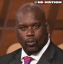 Wink Face Meme - shaq wink reaction gifs