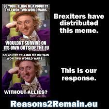 So You Re Telling Me Meme - craig dempsey on twitter brexiteers really hate this meme