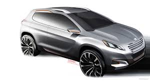 peugeot concept cars peugeot urban crossover concept cars car wallpapers hd desktop