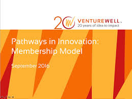 Innovation Idea Create Your Own by Pathways In Innovation Venturewell