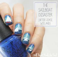 sailboat disaster nail art 3 jpg