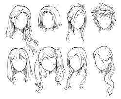 drawing of bob hair best 25 hair sketch ideas on pinterest drawing hair drawings