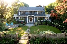 landscape house less lawn more garden traditional landscape new york by