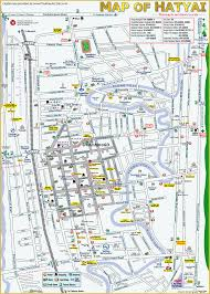 map of hat yai kembaragd 21st to 22nd february 2014 hat yai thailand
