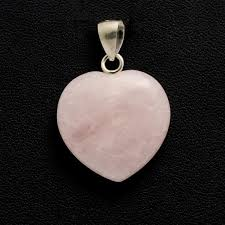 necklace rose quartz images Rose quartz crystal heart pendant holisticshop co uk jpg