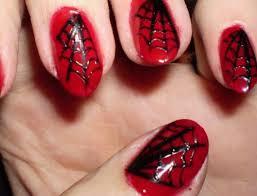 45 red black silver nail designs picsrelevant