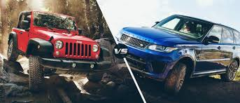 jeep land rover 2015 2016 jeep wrangler vs 2016 land rover