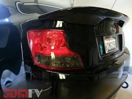 Scion Tc Maintenance Light 2011 2013 Scion Tc Precut Smoke Tail Light Overlays Tint