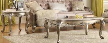 homelegance fiorella coffee table set silver gold 8412 homelegance fiorella coffee table set silver gold