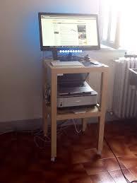 Diy Ikea Standing Desk by On Off Standing Desk A Lack Desk Add On Ikea Hackers Ikea