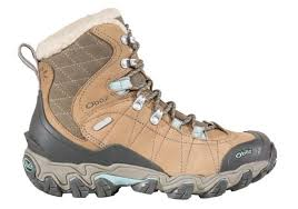 womens boots with arch support oboz s bridger 7 insulated waterproof