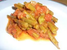 cuisiner haricots verts frais haricots verts à la tomate mes p tites recettes