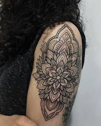 mandala tattoo on shoulder oblong mandala flower u2014 tattoos on women u2014 pinterest tattoo