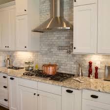 kitchen backsplash ideas with white cabinets houzz 75 beautiful white kitchen with tile backsplash