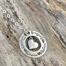 necklace with kids names shop kids name jewelry on wanelo