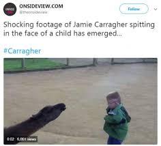 Spit Meme - jamie carragher mocked over spitting video with merciless twitter