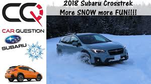 jeep snow meme 2018 subaru crosstrek x mode fun in the snow and ice review