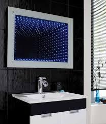 bathroom infinity mirror hudson reed lucio infinity led mirror reviews wayfair co uk