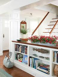 kitchen bookshelf ideas wall shelves design sophisticated half wall with shelves half