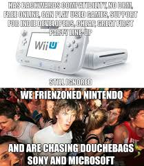 Wii U Meme - friendzoned nintendo weknowmemes