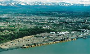 Map Of Anchorage Alaska by Port Of Anchorage Wikipedia