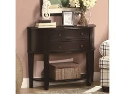 discount accent tables coaster accent tables demilune entry sofa table value city