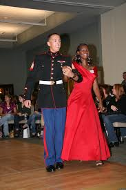 marine corps community services gives away 100 plus ball gowns