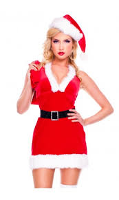santa dress christmas costumes santa claus costumes upscalestripper