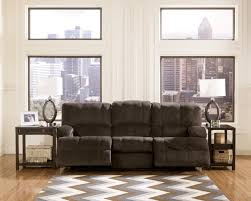 living room ashley furniture microfiber couch rocking recliner