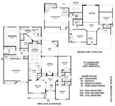 bedroom house plans one level with pictures walkout basement5