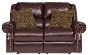 Ashley Recliners Walworth Blackcherry Power Reclining Living Room Set From Ashley
