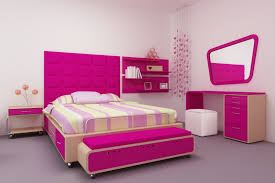 bedroom astonishing small with pink wall paint color and curtain