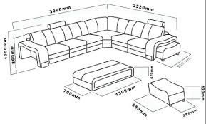 Sectional Sofas Dimensions Fascinating Sectional Dimensions Circle Black Contemporary