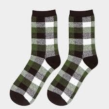 mens christmas socks 1pair classic lattice fashion hip hop socks for mans colored happy