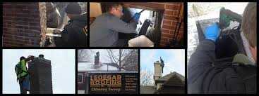 chimney cleaning and inspection ledegar roofing la crosse wi