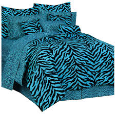 Zebra Decor For Bedroom Amazon Com Zebra Print Bed Bed In A Bag Lime Green And Black